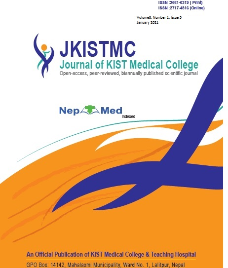 View Vol. 3 No. 1 (2021): Journal of KIST Medical College